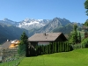The view from our chalet