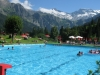 Swimming pool at Adelboden - what a view!